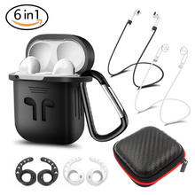 DUSZAKE DA24 Accessories For Apple Airpods Case Ear Hook Air Pods Headphones Accessory Cover