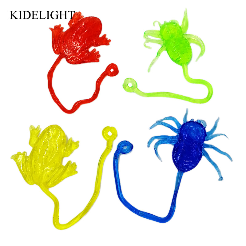 10PCS sticky animal toy party favors for kids birthday pinata bags baby shower girl boy party gift souvenir in Party Favors from Home Garden
