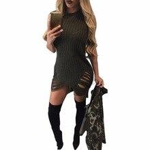 Однотонная одежда трикотажные Платья для женщин Для женщин хип-хоп Платья для женщин весна рукавов О Средства ухода за кожей шеи платье с отверстиями