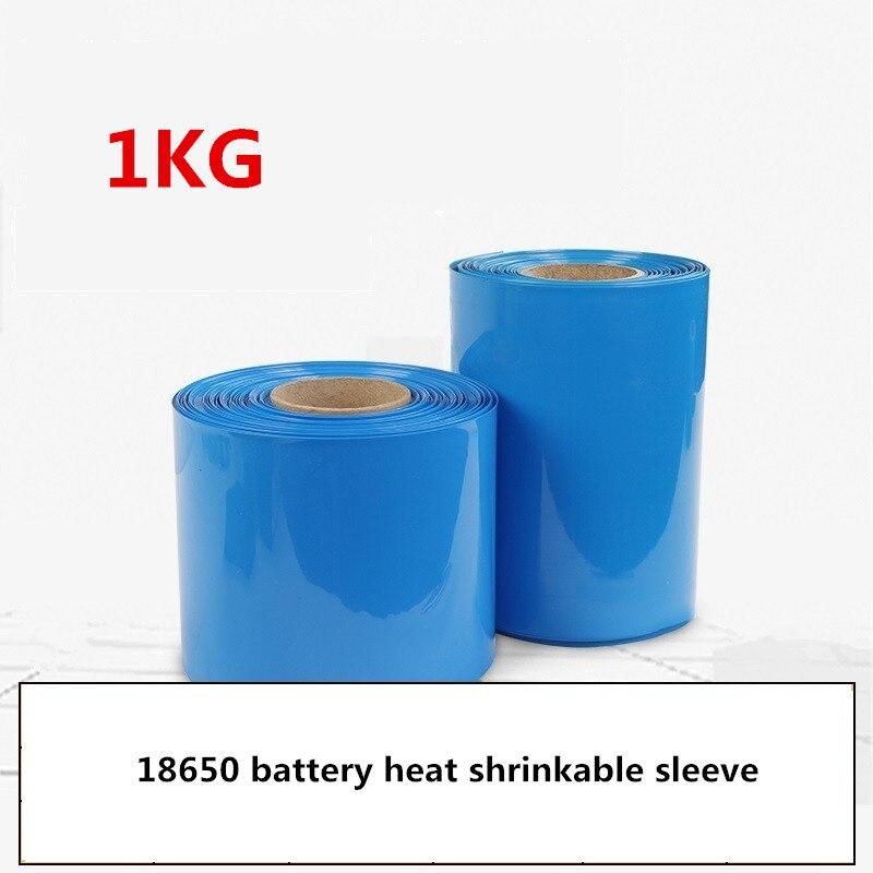 1 KG PVC gaine thermorétractable tube Rétractable une variété de spécifications 18650 batterie manchon rétractable Isolation boîtier thermorétractable