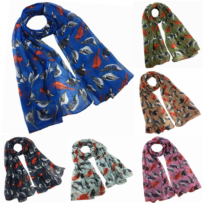 Women Print Long Soft   Scarf     Wrap   Shawl Stole palatine banda handkerchief women's   scarves   hijab   scarf   40MA08