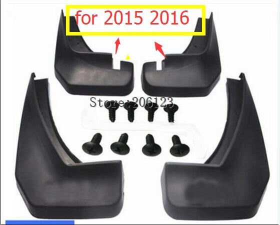 4PCS Mudguard For 2012 13 17 CHANGAN CS35 Fender mud flaps Car styling Set soft Plastic Splash Guards Accessories special fender