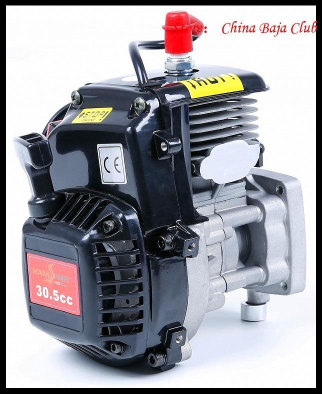 30.5cc Motore 4 Bolt Motore con 668 Carburatore candela 8000 RPM Frizione Fits HPI Baja 5B, LOSI 5 iveT, Redcat, FG - 2