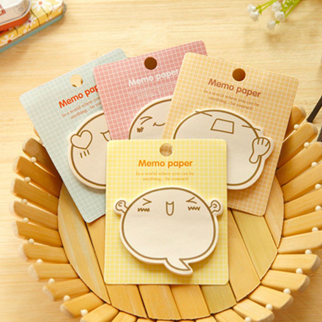 New Hot Kawaii Creative Sticker Notes Paper Cartoon Message Note Book Memo Pad School Office Stationery Label Gifts 30 Pages