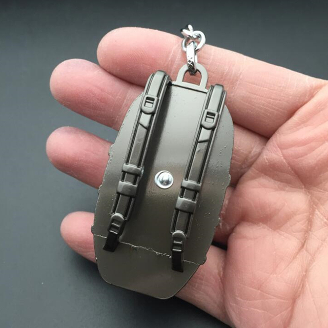 PUBG  Playerunknown's Battlegrounds Parachute Level 3 armor backpack Keychain