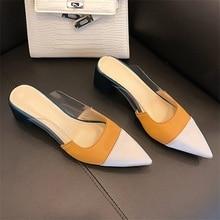 Summer Womens Slippers Fashion Design High Quality Materials Comfortable Inner Heel Sandals Women
