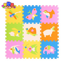 mei qi cool SGS passed 9Pieces Kid Game Carpet Blankets Foam EVA BABY Play Mat Puzzle Baby Play Mat Protection Mat(China)