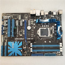 ASUS P7P55D-E LX original motherboard LGA 1156 DDR3 for i3 i5 i7 cpu 16GB USB2.0 USB3.0 P55 Desktop motherboard free shipping(China)