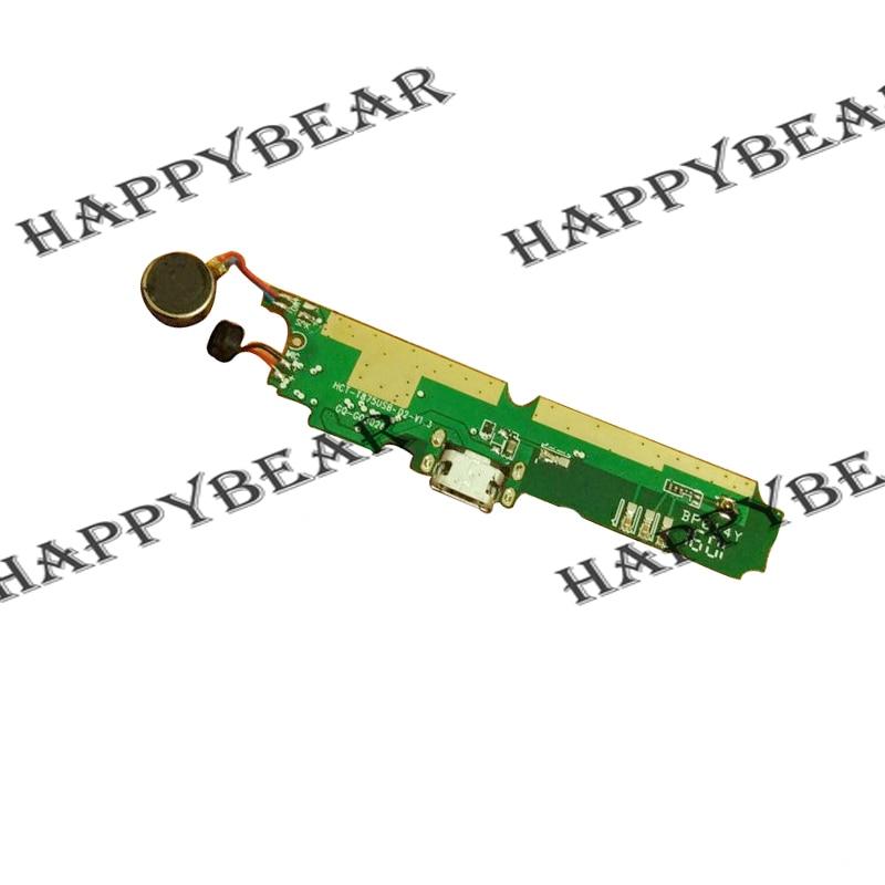 imágenes para USB Tablero de Carga Enchufe con micrófono y altavoz de la Vibración de motor Para Ulefone potencia