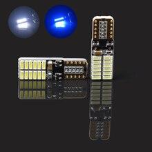 T10 W5W 24SMD CANBUS samochodów LED nie błąd Super jasne żarówki oświetlenie wnętrza samochodu lampka do czytania lampka sygnalizacyjna lampa lodu do auto