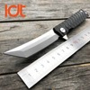 LDT Twosun Tanto Folding Knife D2 Blade Steel Handle Tactical Knives Camping Survival Hunting Pocket Flipper