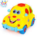 Electric Universal Brinquedos para Bebe Carrihos e Veicolus Baby Cars Free Shipping 516 Intelligent Fruit Car With Light & Music