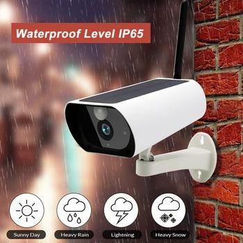 1080P HD Wifi Outdoor Waterproof Solar Energy IP Camera Wireless Surveillance IR Camera CCTV Camera Indoor Real-time Talk