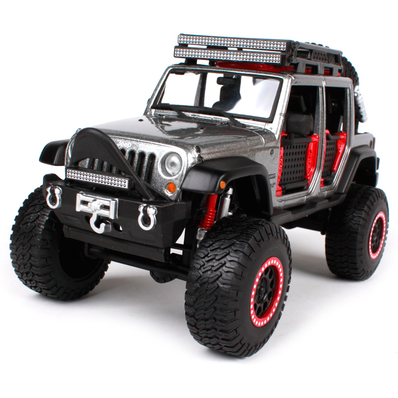Maisto 1:24 OFF ROAD KINGS 2015 JEEP WRANGLER UNLIMITED Modified Suvs Diecast Model Car Toy New In Box Free Shipping 32523 1 18 all new jeep wrangler willys 2017 cabrio off road vehicle suv alloy toy car