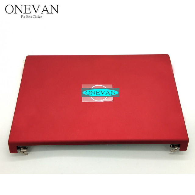 Para Dell Studio 1555 1557 1558 LCD Back Cover Red 06 6PNWT 6 6PNWT 90% NOVO