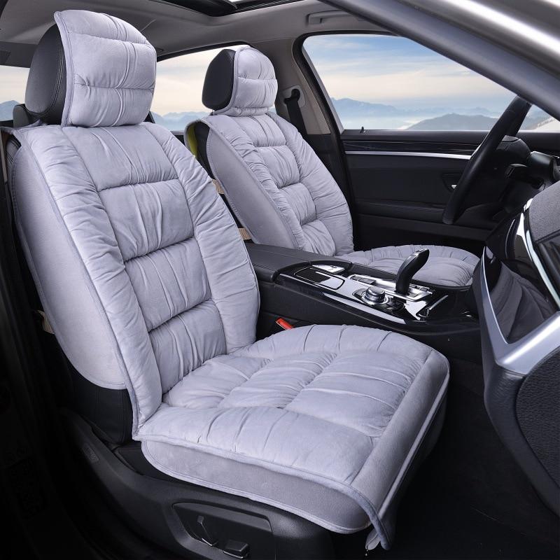 08- Premium Black SEAT Covers White Piping 1-1 Automotique TIGUAN R LINE