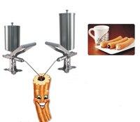 Free shipping 5L Spain Churro stuffer stuffing material machine Churro Nozzle