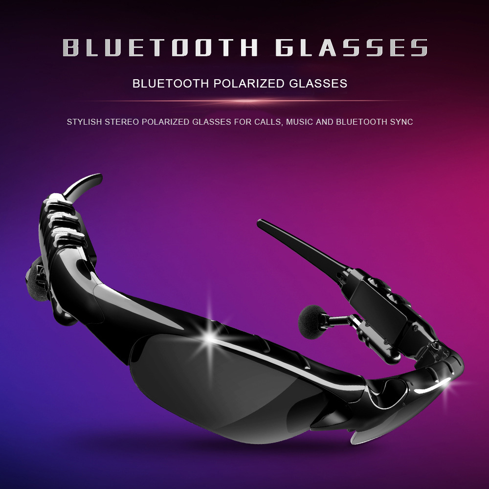 Bluetooth Sunglasses Wireless Long standby Music Glasses Outdoor Sport Cycling  Headphone Headset Stereo Earphone With Mic