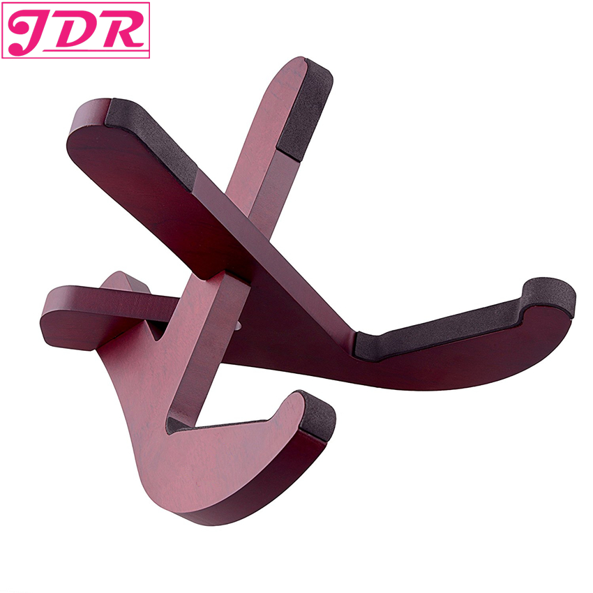 JDR Premium Musical Instrument Stand for Ukulele Mandolin Small Banjo Violin or Pipa Easily Assemble and Seperate im souvenir musical instrument collection keychain guitar ukulele drum saxophone piano violin cello mandolin keyring