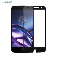 For Motorola Moto Z Full Cover Tempered Glass case Screen Protector for Droid edition XT1650 full Coverage glass Film