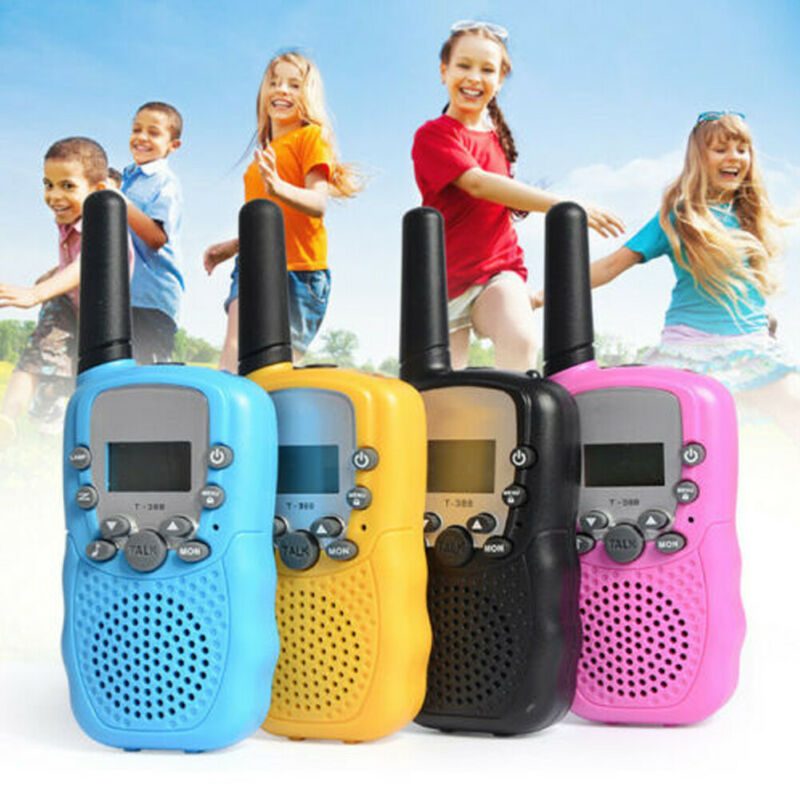 2X Baofeng Mini Walkie Talkie For Child Kids Toy 3-5km Range 2 Way Radio Outdoor