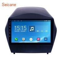 Seicane 9 Android 6,0 HD сенсорный экран gps навигация Радио мультимедийный плеер для 2014 2010 2013 2009 2015 hyundai IX35 с SWC