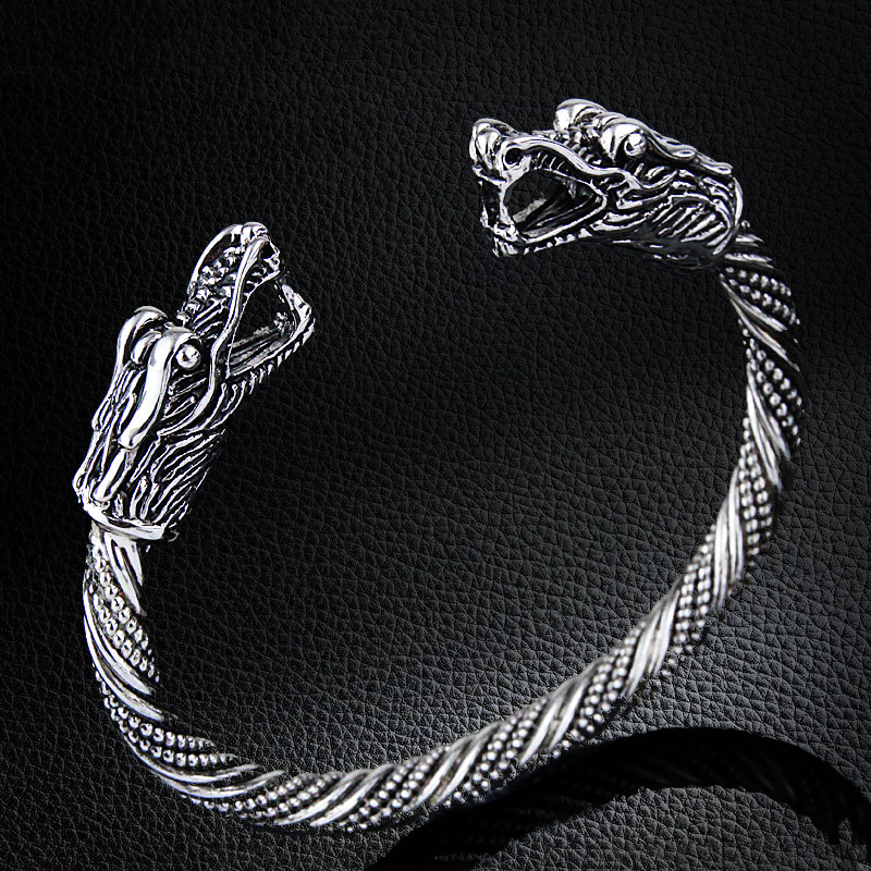 Vikings Dragon Head Bracelet
