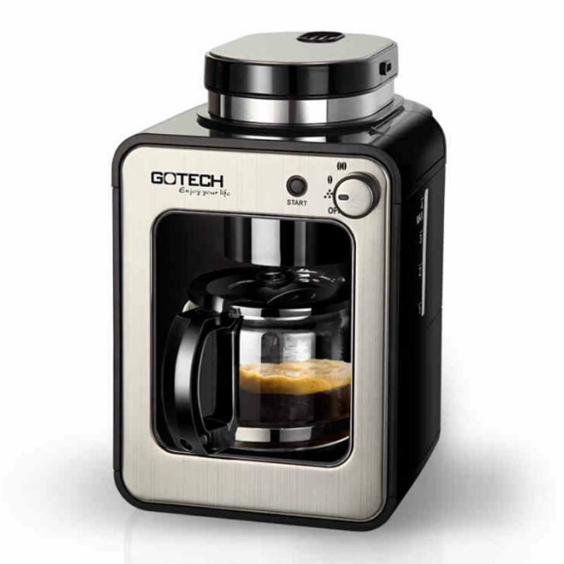 Coffee Machine Coffee Pot Coffee Digester Coffee Bean Grinder Grinder Multifunction Intelligent Control Automatic Grinding