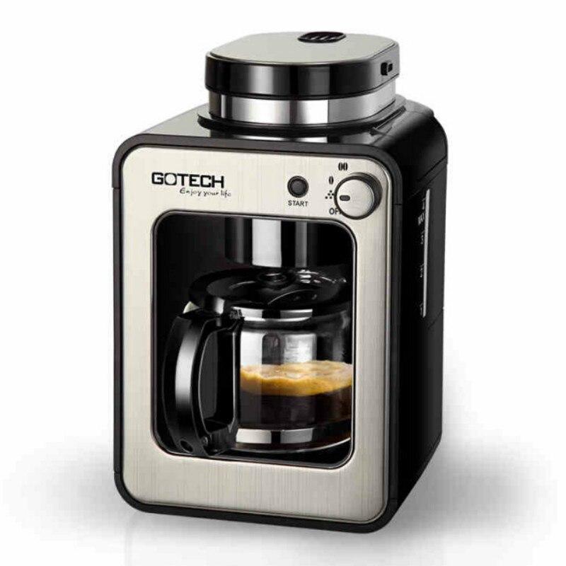 Ekspres do kawy dzbanek do kawy kawy komory fermentacyjnej ziarna kawy młynek młynek wielofunkcyjny inteligentne sterowanie automatyczne szlifowanie w Ekspresy do kawy od AGD na  Grupa 1
