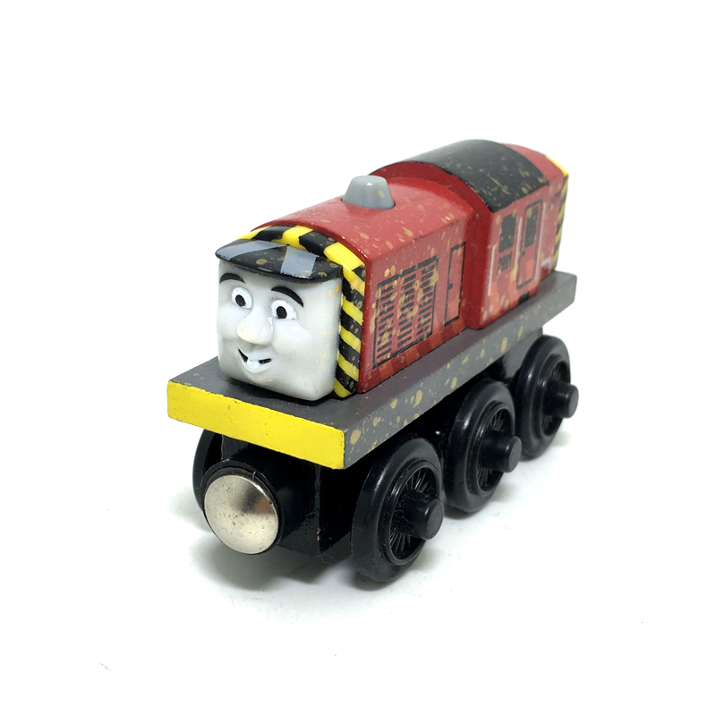 W75 Gold Dust Salty Original Thomas And Friends Wooden Magnetic Railway Model Train Engine Boy / Kids Toys Gift