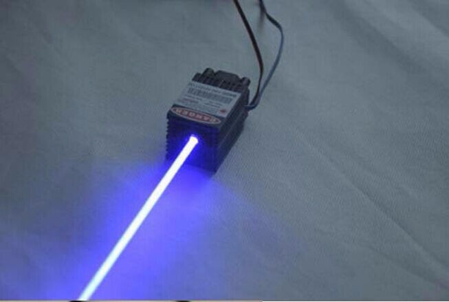 ФОТО 200mW 450nm blue laser module with power driver TTL, AC/DC12V
