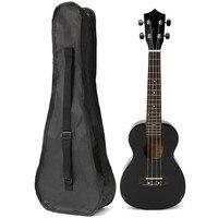 23'' Rosewood Stringed Instrument Ukulele 4 Strings Acoustic Electric Bass Guitarra Guitar with Bag Case For Kids Beginner