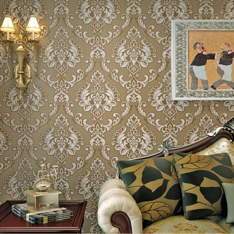 Beibehang Modern luxury 3D wallpaper papel de parede Damascus wallpaper 3D living room bedroom TV sofa background wall paper 3d beibehang modern luxury 3d wallpaper stripe wall paper papel de parede damask wall paper for living room bedroom tv background