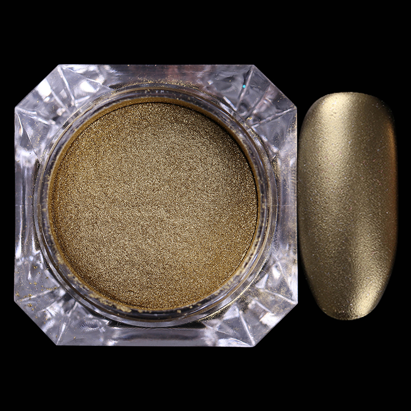 BORN PRETTY 4 τεμ. Σοκολάτα Matte Nail Glitter - Τέχνη νυχιών - Φωτογραφία 3