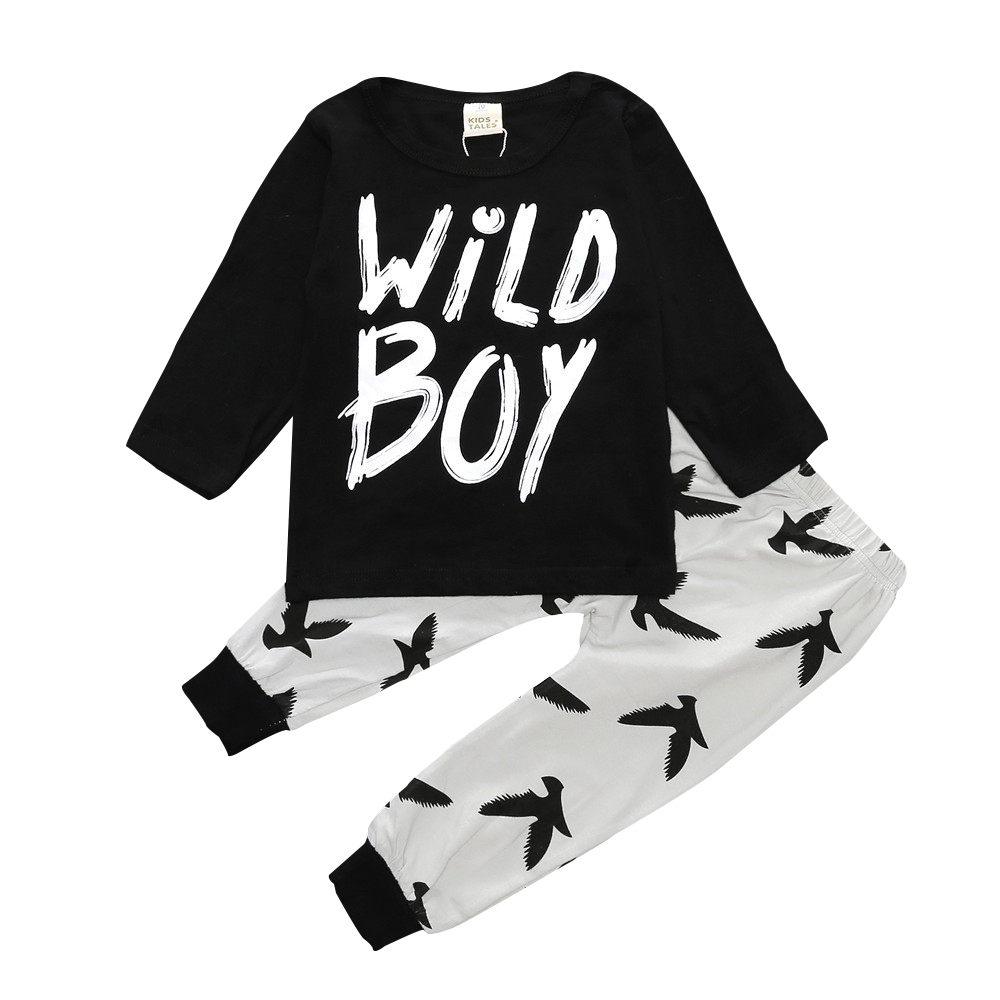 Pants 2pcs Cotton Sets Full Sleeve Clothing Active Suits New Girls T-Shirt