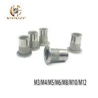 M3 M4 M5 M6 M8 M10 M12 304 stainless Steel Rivets T Hollow Rivet Set  hreaded Rivet Metal Plate Tube Fastener Tool