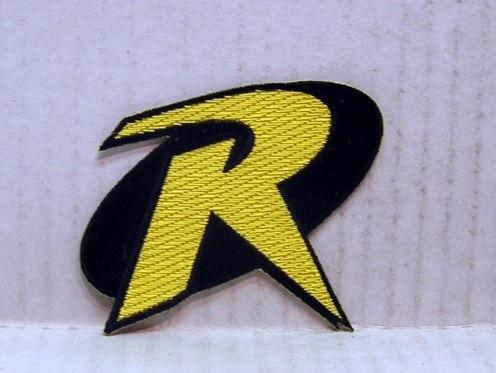 Robin R Uniform Logo Batman Animated Series 35 Costume