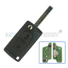 CE0523 удаленное для Citroen Peugeot ключ 2 кнопки 433 мГц VA2 PCF7941 электронная схема remtekey