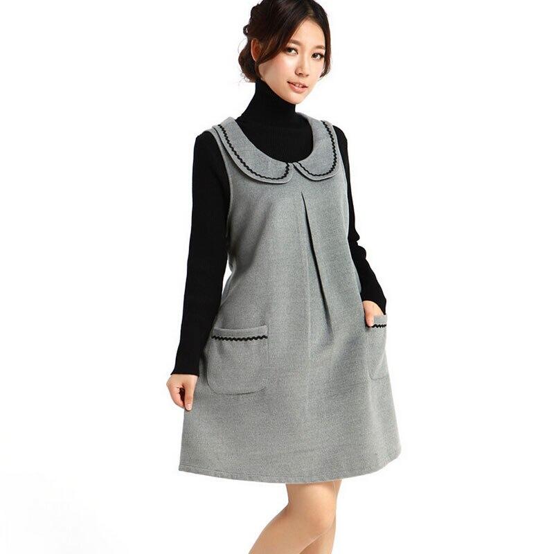 2015 беременным зимняя одежда свободного покроя одежда женская одежда  сарафаны для беременных женщин теплые vestidos купить на AliExpress 76b506b2401b2