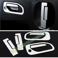SUS304 Stainless Steel Door Handle Garnish Trim Car Styling Cover Accessories For Nissan CARAVAN NV350 E26