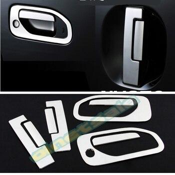SUS304 drzwi ze stali nierdzewnej uchwyt dekoracji wykończenia Car Styling pokrywa akcesoria dla Nissan CARAVAN NV350 E26