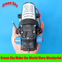130PSI 5.5l/min 80w return valve type with cooling fan dc 12v micro diaphragm pump