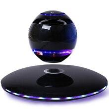 DJYG Levitation Bluetooth Speaker Levitating speaker Floating Maglev Wireless Magnetic  suspension Rotation Led light  Subwoofer