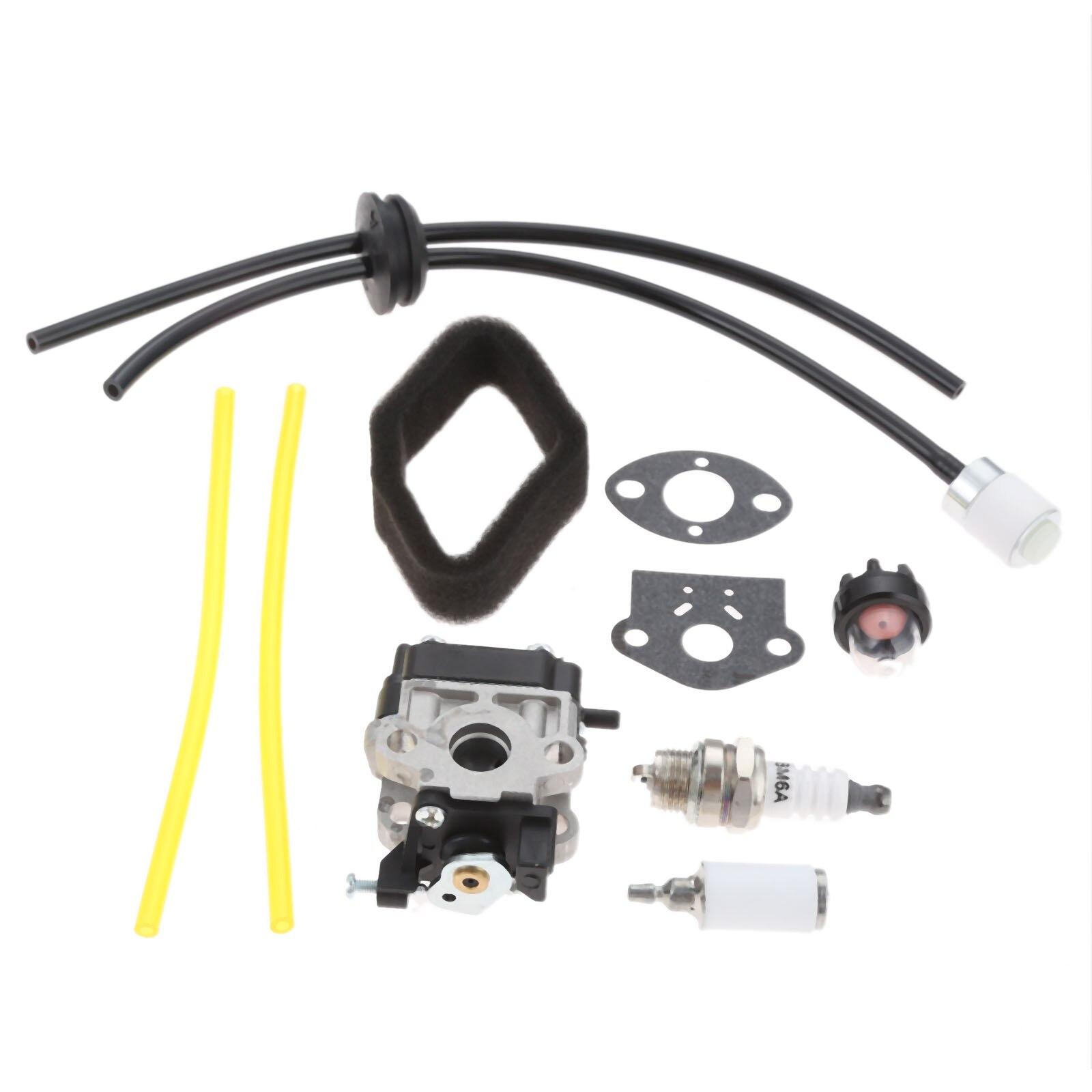DRELD Carburetor Carb Rebuild Kit For Homelite BM254BV SC254BV Blower Toro 51944 51945 Power Head Replace 308480001 WYC-7-1