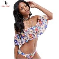 Ariel Sarah Lace Bikinis Bathing Suit Women Floral Swimwear Swimsuit New Biquini 2017 Bikinis Set Brazilian