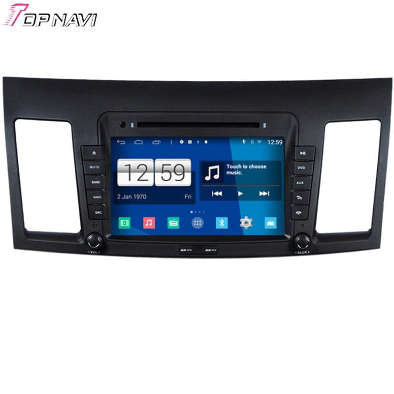2f18753da733fb Topnavi Quad Core S160 Android 4.4 Car DVD Multimedia Player per Lancer  Audio Stereo Radio 2DIN di Navigazione GPS In Dash Wifi