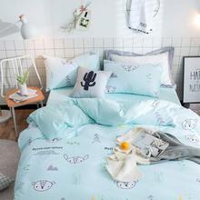 Cute cartoon bedding set teen child boy,twin full queen king single double cotton home textile bed sheet pillow case duvet cover