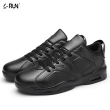Women Men's Casual Shoes PU Leather Lightweight Breathable Platform Shoes for Male Durable Outdoor Walking Trainers Non-slip