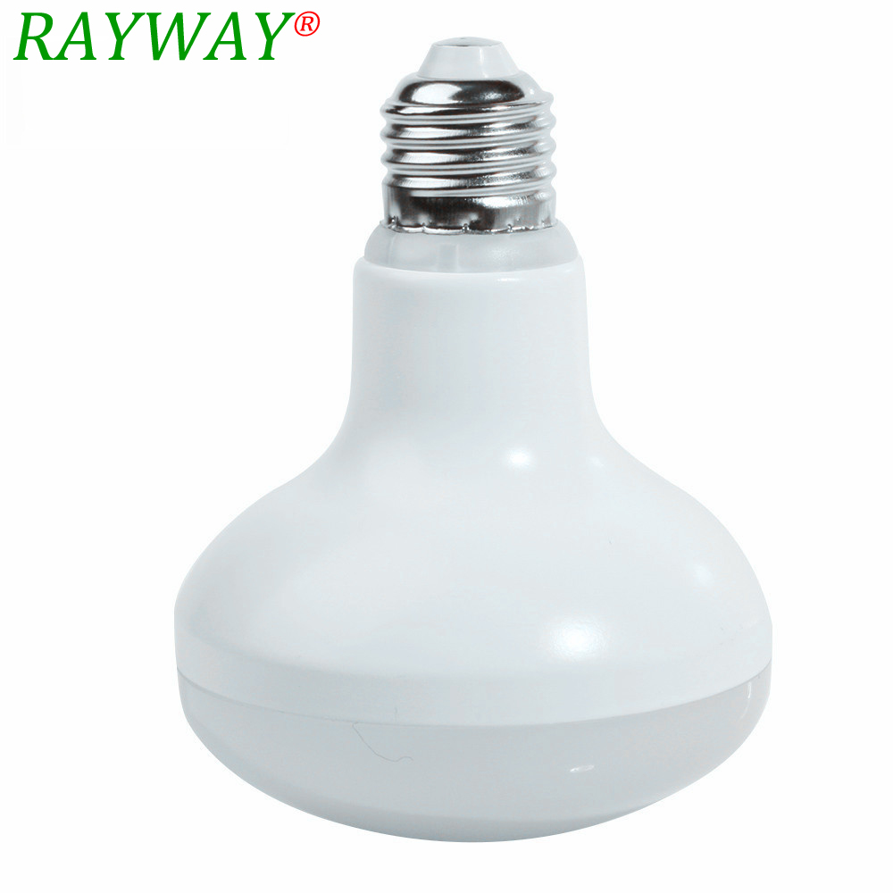 RAYWAY Newest Top R80 12W E27 Umbrella LED Bulb Cool White/Warm White AC85~265V dimmable SpotLight 270 degrees LED Lamps