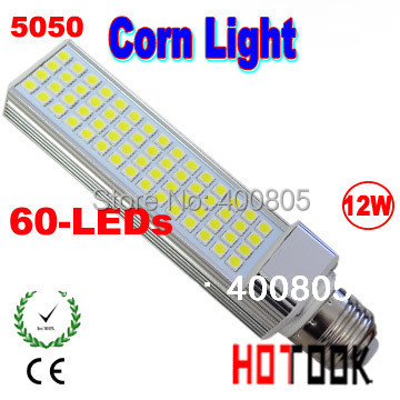 Promotion price LED Corn Light 12w 5050 SMD E14 G24 E27 LED lamp Bulb Lighting 220V 60 leds smd led lights corns CE ROHS